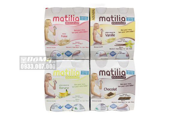 Sữa Bầu Matilia Lốc 4 Chai