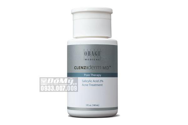 Toner Trị mụn OBAGI Clenziderm MD Pore Therapy 2% 148ml
