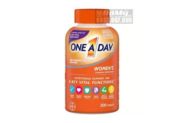 Vitamin tổng hợp cho nữ One a Day women's Formula của Mỹ 200 viên (dưới 50t)