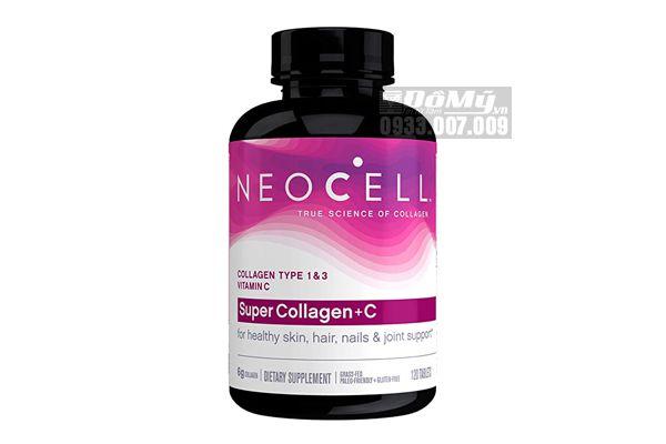 Viên Uống Super Collagen + C Chống Lão Hóa 120 Viên Neocell Mỹ