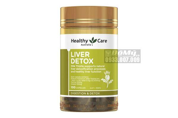 Viên Uống Healthy Care Liver Detox Hộp 100 Viên của Úc