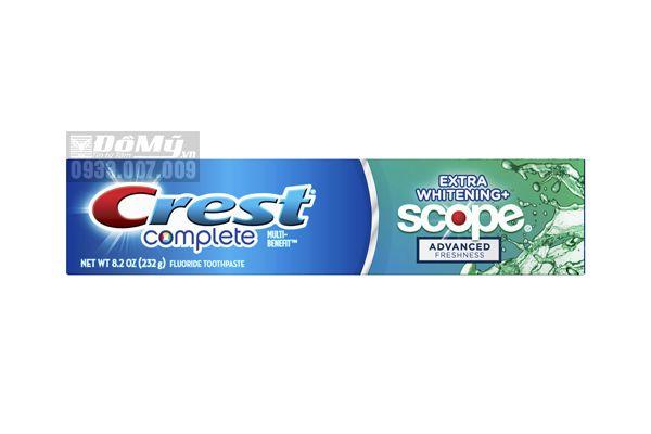 Kem đánh răng Crest Complete Multi Benefit 232g