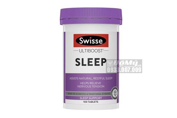 Viên uống hỗ trợ ngủ ngon Swisse Sleep 100 viên Úc