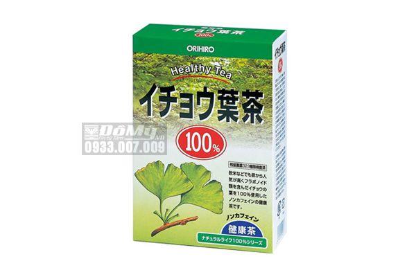 Trà Lá Bạch Quả Bổ Não Orihiro 100% Gingko Leaf Health Tea (Hộp x 26 Túi Lọc)