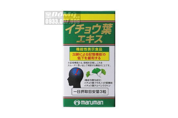 Thuốc Bổ Não Maruman 100 viên của Nhật Bản