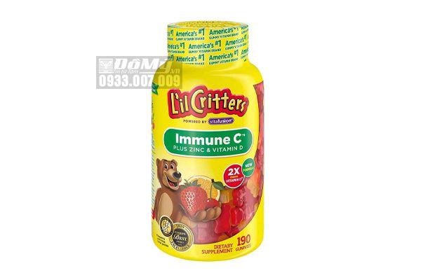 Kẹo Dẻo Bổ Sung Vitamin C Và Tăng Sức Đề Kháng Immune C 190 Viên