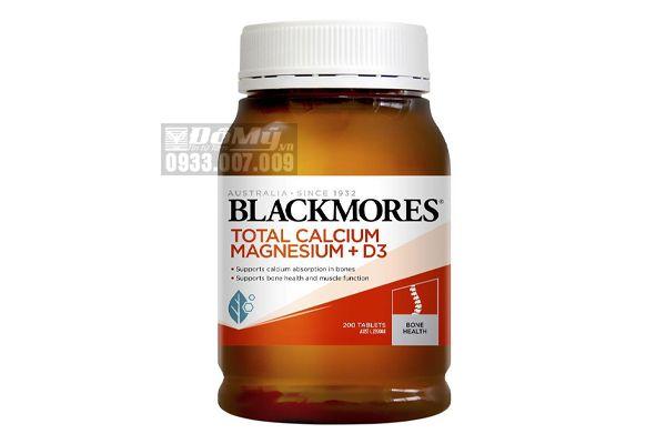 Viên uống bổ khớp Blackmores Total Calcium Magnesium + D3 200 Viên