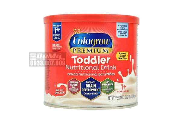 Sữa Enfagrow Premium Toddler 284g (Nắp Đỏ)