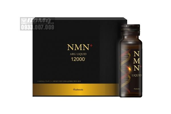 Nước Uống Trẻ Hóa Ty Thể NMN+ Arg Liquid 12000 [Hộp 10 Lọ x 30ml]