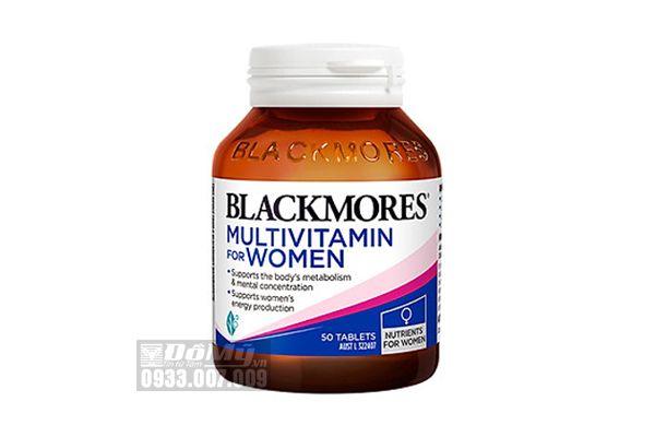 Viên Uống Vitamin Tổng Hợp Cho Nữ Blackmores Multivitamin For Women 50 Viên