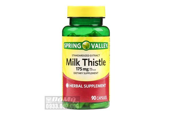 Viên Uống Spring Valley Milk Thistle 175mg 90 Viên Của Mỹ
