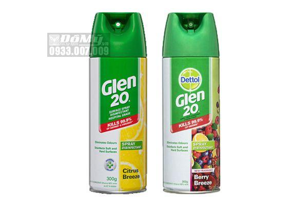Bình Xịt Diệt Khuẩn Dettol Glen 20 Của Úc