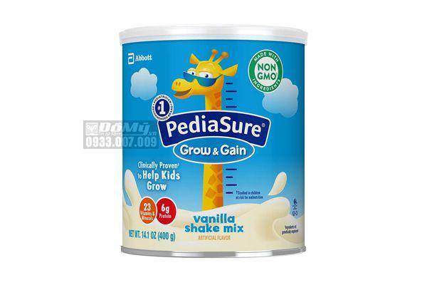 Sữa Pediasure Sake Mix hương Vanilla 400g - Mỹ