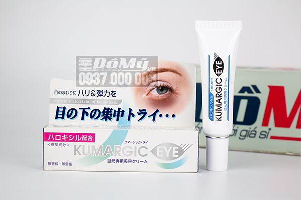 Kem trị thâm quầng và xóa tan bọng mắt Kumargic Eye cream của Nhật Bản