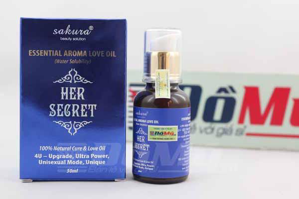 Tinh Dầu Tăng Khoái Cảm Sakura Essential Aroma Love Oil Water Solubility dành cho phụ nữ
