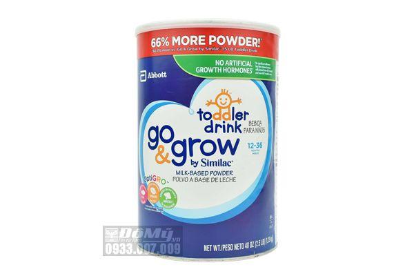Sữa Similac Go & Grow Toolder Drink dành cho bé 12 – 36 tháng của Mỹ