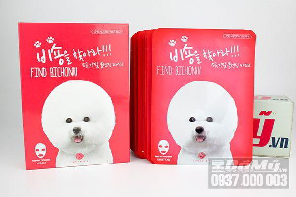 Mặt nạ sủi bọt đa chức năng Find Bichon – Skin Barista của Hàn Quốc