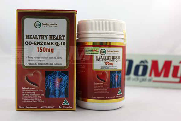 Golden Health Healthy Heart Co-Enzyme Q-10 - Thuốc Bổ Tim