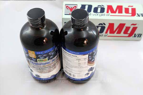 Neocell Hyaluronic Acid Blueberry Liquid 473ml - Nước Uống Bổ Sung HA Chiết Xuất Từ Quả Việt Quất