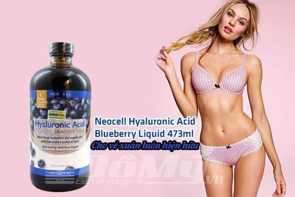 Neocell Liquid 473ml - Nước Uống Bổ Sung HA Chiết Xuất Từ Quả Việt Quất