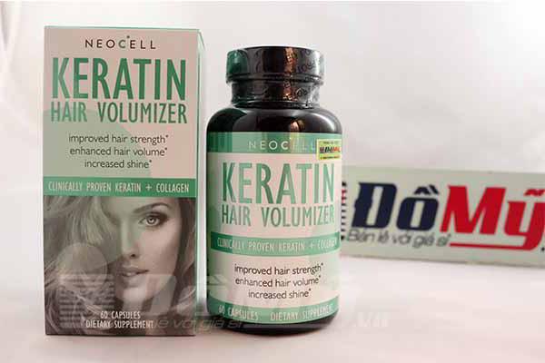 Viên Uống Mọc Tóc Và Ngăn Ngừa Rụng Tóc Neocell Keratin Hair Volumizer
