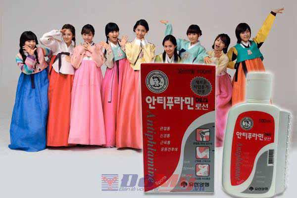 ầu nóng xoa bóp Antiphlamine (100ml) của Hàn Quốc 3