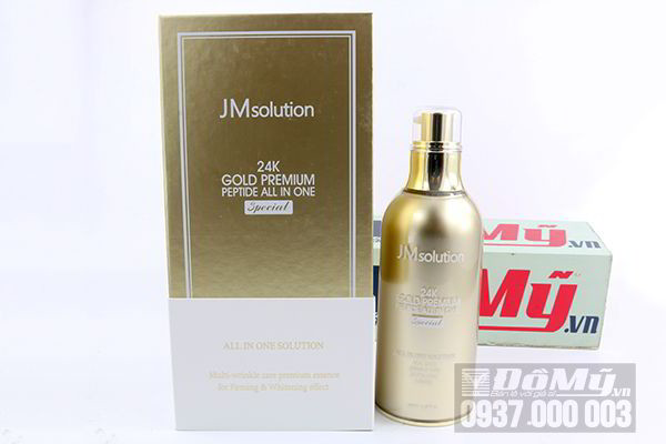 Tinh chất JMsolution 24K Gold Premium Peptide All – in – one Special 100ml của Hàn Quốc