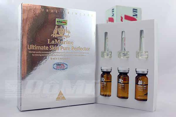 Tinh Chất làm trắng da Lamarine Ultimate Skin Pure Perfector của Úc 10ml x 3 lọ