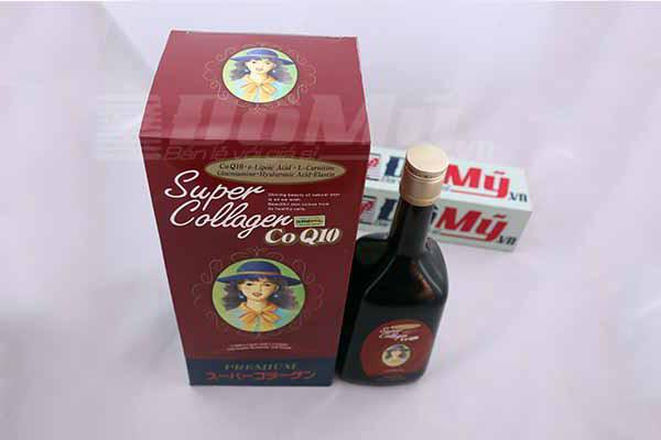 Nước uống chống lão hóa Super Collagen CoQ10 720ml của Nhật Bản