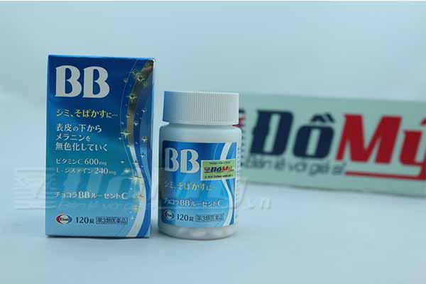 Viên uống đặc trị mụn, nám, tàn nhang Chocola BB Lucent C 120 viên Nhật Bản