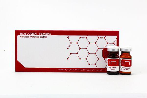 Dưỡng trắng, trị nám mảng, tàn nhang BCN Lumen 5 lọ 5ml Tây Ban Nha