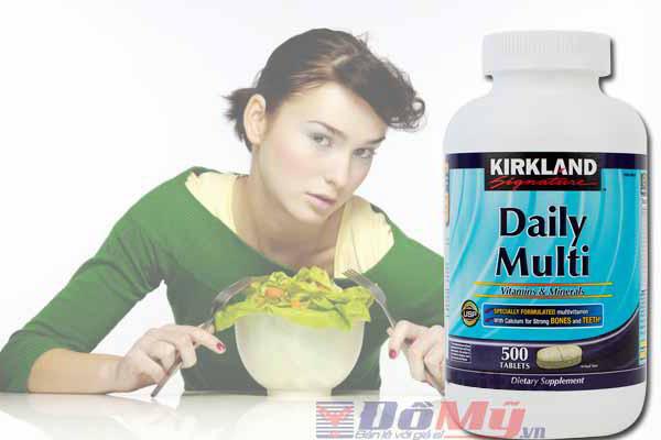 Daily Multi Kirkland Vitamin hàng ngày cho người dưới 50 tuổi 500 viên