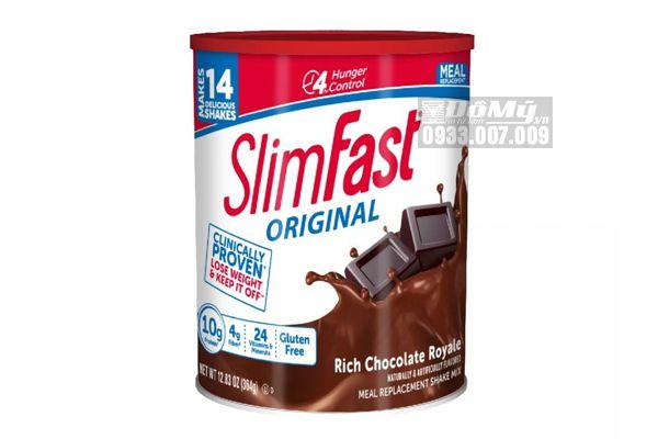 Bột Giảm Cân Socola Slim Fast 364 gram của Mỹ