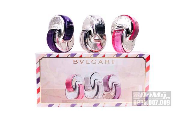 Set BVLGARI Mini Dạng Xịt 3 Chai 15ml x 3