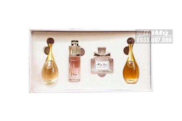 Set Nước Hoa Mini Nữ Dior 4 Chai Les Parfums De L'avenue Montaigne Của Pháp