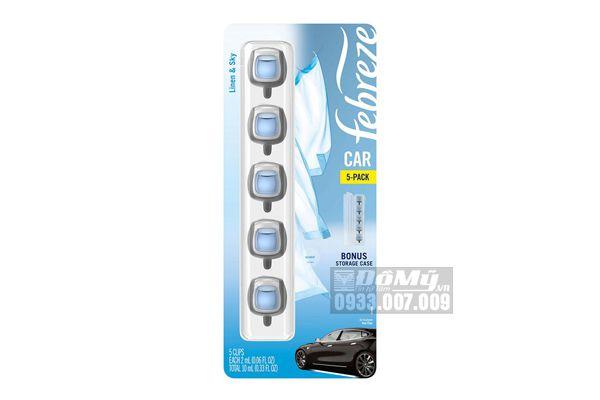 Set nước hoa ô tô Febreze Car et 5x2ml