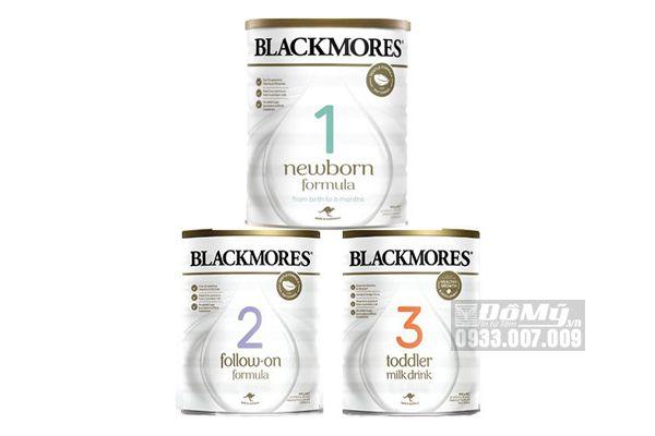 Sữa Blackmores Newborn Số 1,2,3 900g Của Úc