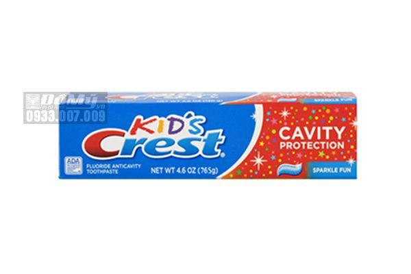 Kem Đánh Răng Crest kids 130g cho bé của Mỹ
