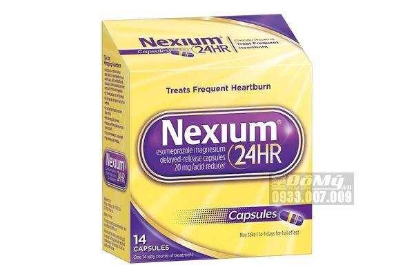 NEXIUM 24HR - TPCN Giúp Hỗ Trợ Điều Trị Bệnh Viêm Loét Dạ Dày Hành Tá Tràng, 14 Viên