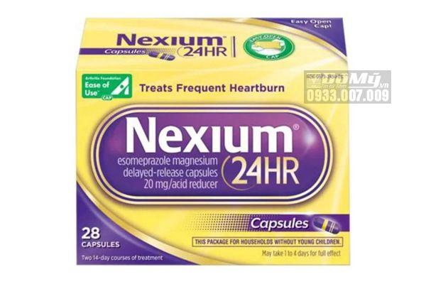 NEXIUM 24HR - Hỗ Trợ Điều Trị Bệnh Viêm Loét Dạ Dày Hành Tá Tràng  28 Viên