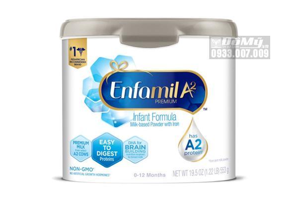 Sữa công thức Enfamil A2 Infant Formula 553g của Mỹ