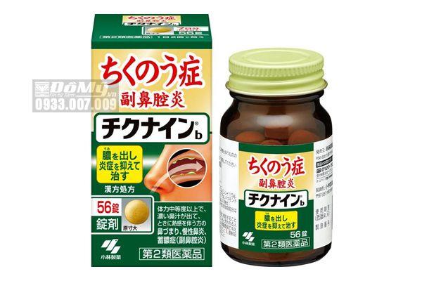 Thuốc đặc trị viêm xoang Kobayashi Chikunain của Nhật Bản 56 viên