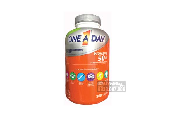 Vitamin tổng hợp dành cho nữ giới trên 50 tuổi One A Day 300 viên