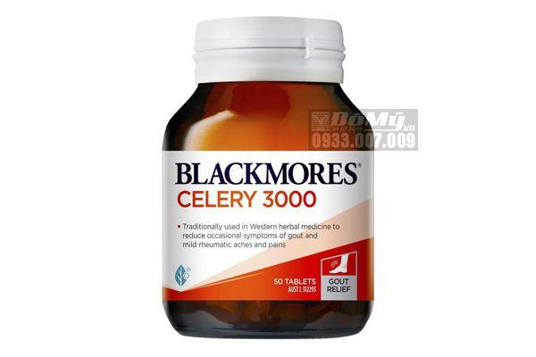 Viên uống phòng và điều trị Gút Blackmores Celery 3000 50 viên của Úc