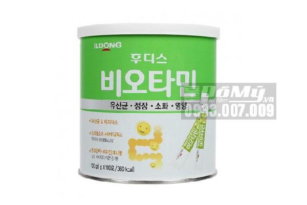 Men vi sinh ILDong Hàn Quốc 100 gói x 100g