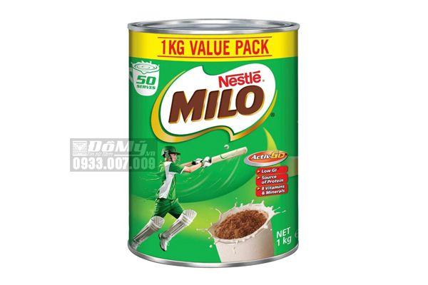 Sữa Milo Nestle Value Pack 1kg của Úc