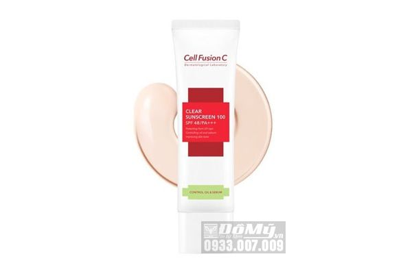 Kem chống nắng Cell Fusion C Clear Sunscreen 100 SPF 50+ PA+++