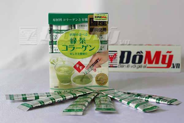 Trà bổ sung Collagen ngăn ngừa lão hoá Hanamai Tea Collagen của Nhật