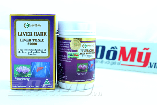 Viên uống bổ gan Liver Care Liver Tonic 35000mg Golden Health