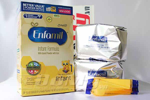 Sữa Enfamil PREMIUM ® Infant  tăng cường miễn dịch cho bé từ 0-12 tháng. Hộp 52.5 oz (1.49kg)